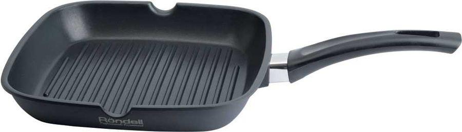 Сковорода-гриль RONDELL Balance 0873-RD-01, 28х28см, без крышки,  черный