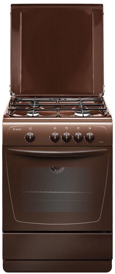 Газовая плита GEFEST ПГ 1200-С7 К89,  газовая духовка,  коричневый