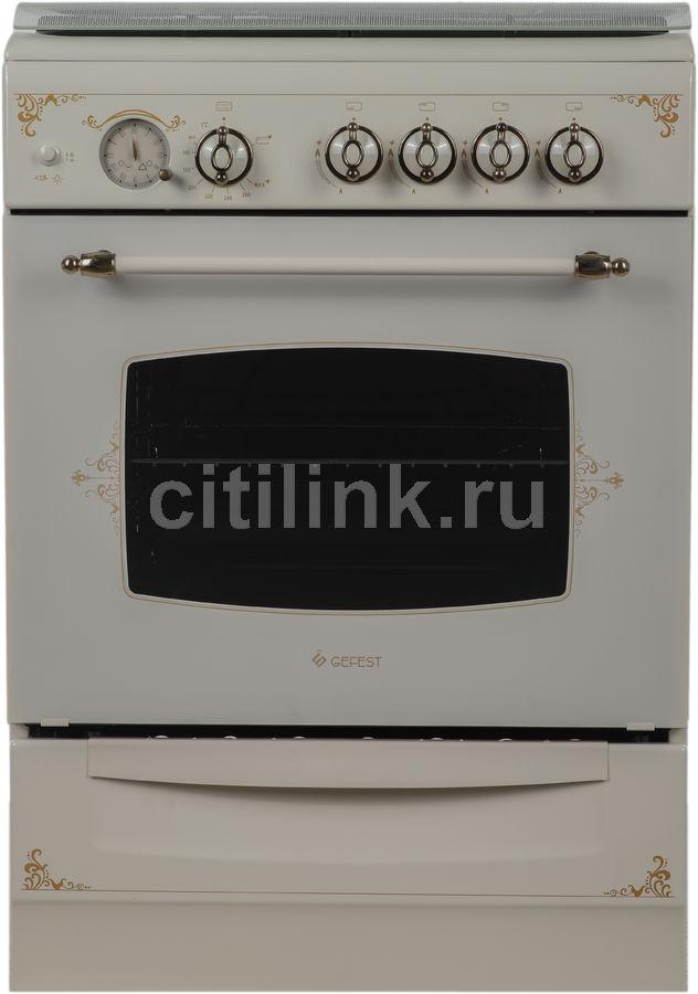 Газовая плита GEFEST ПГ 6100-03 0279,  газовая духовка,  кремовый