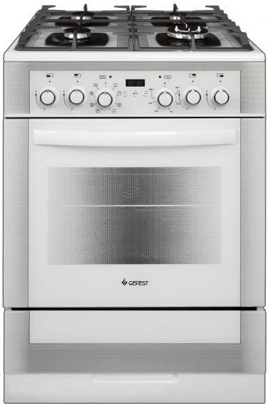 Газовая плита GEFEST ПГЭ 6502-03 0242,  электрическая духовка,  белый
