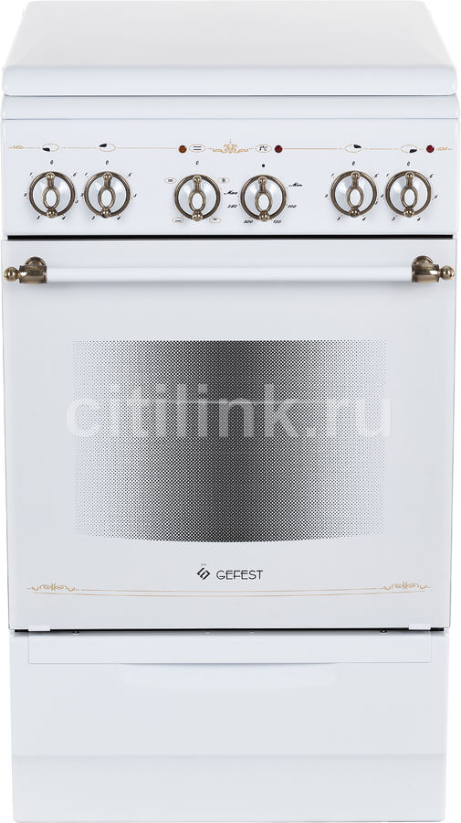 Электрическая плита GEFEST ЭП Н Д 5140-01 0121,  эмалированный металл,  металлическая крышка,  белый
