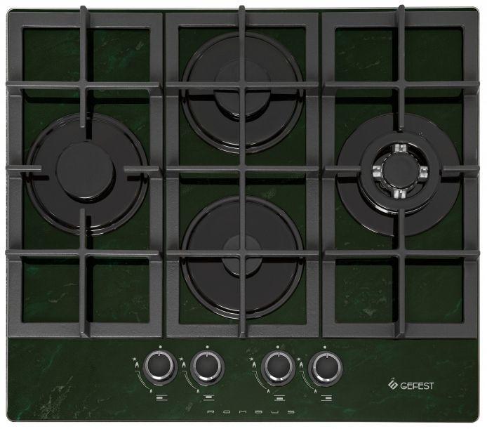 Варочная панель GEFEST ПВГ 2231-01 К59,  независимая,  зеленый