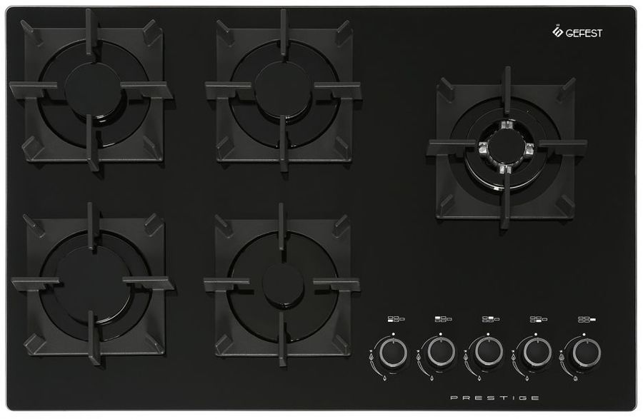 Варочная панель GEFEST ПВГ 2341,  независимая,  черный