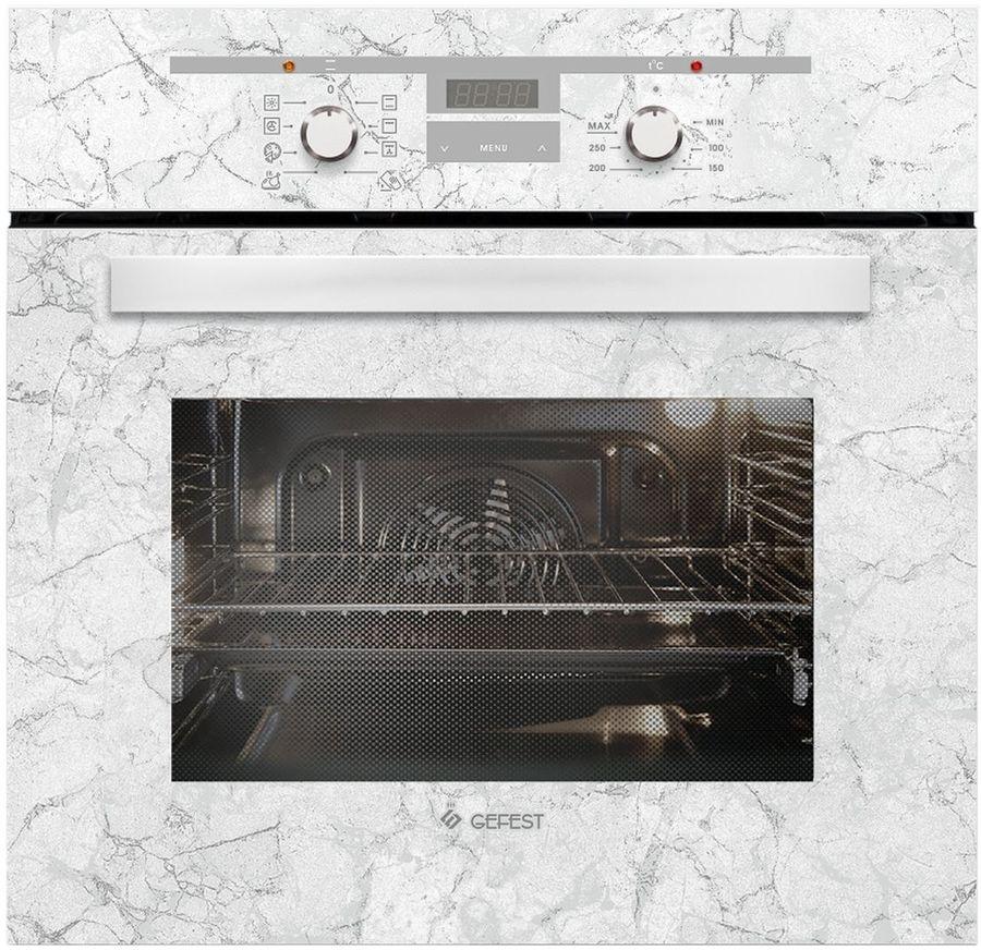Духовой шкаф GEFEST ЭДВ ДА 622-02 К52,  белый