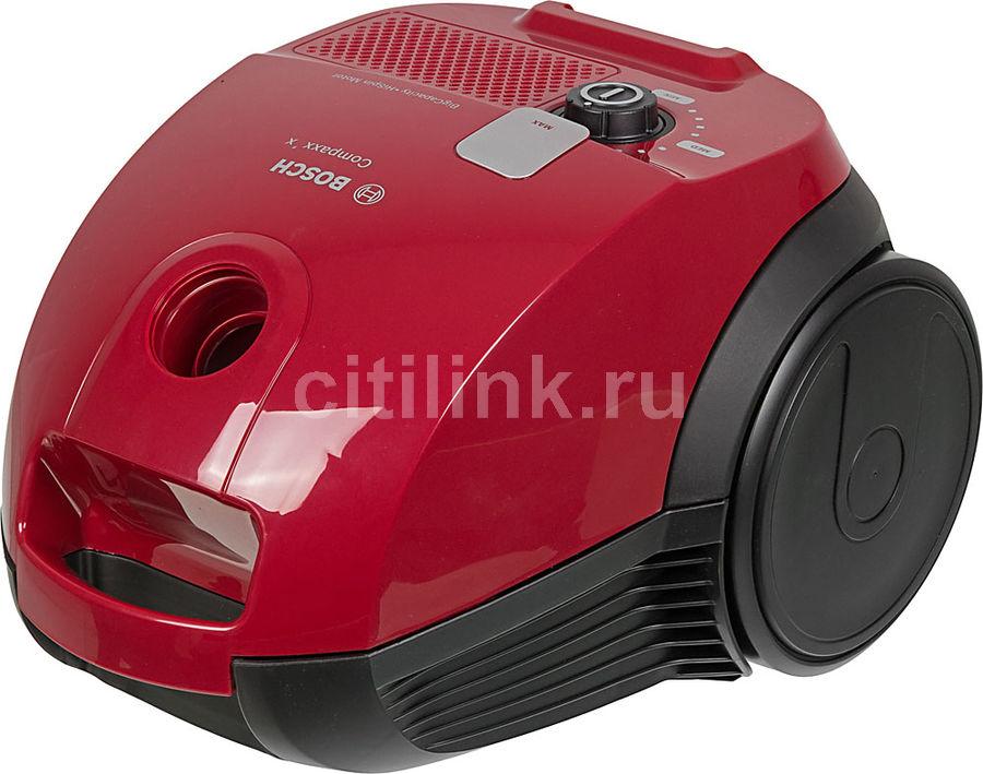 Пылесос BOSCH BZGL2A310, 600Вт, красный/черный