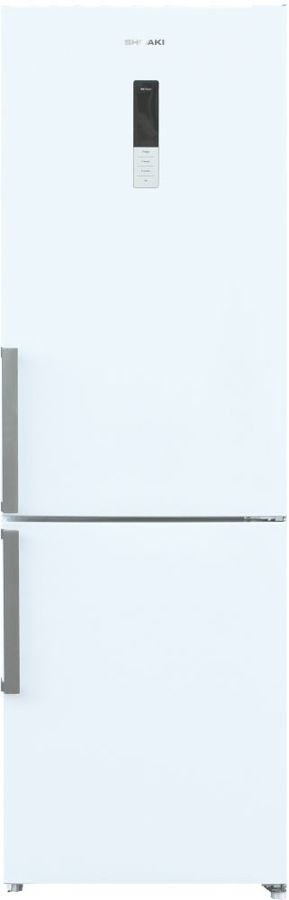 Холодильник SHIVAKI BMR-1852DNFW,  двухкамерный, белый