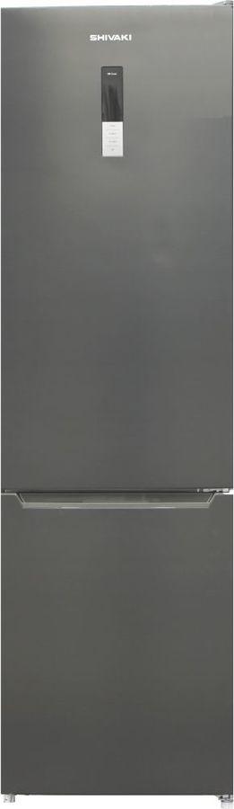 Холодильник SHIVAKI BMR-2017DNFX,  двухкамерный, нержавеющая сталь