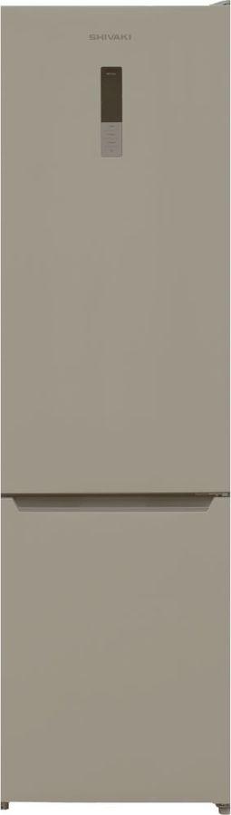Холодильник SHIVAKI BMR-2017DNFBE,  двухкамерный, бежевый