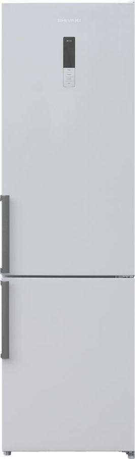 Холодильник SHIVAKI BMR-2018DNFW,  двухкамерный, белый