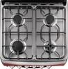 Газовая плита RICCI RGC 6040RD,  газовая духовка,  красный вид 8