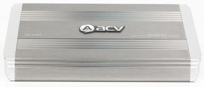 Усилитель автомобильный ACV GX-4.100,  серый [30326]