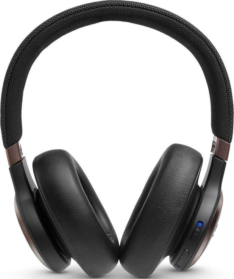 Наушники с микрофоном JBL Live 650BTNC, Bluetooth, накладные, черный [jbllive650btncblk]