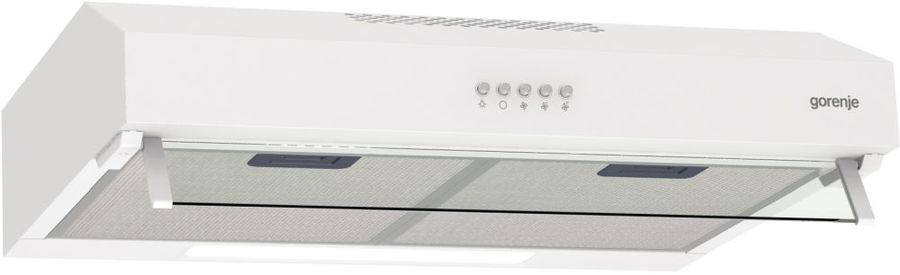 Вытяжка встраиваемая Gorenje WHU529EW/M белый управление: кнопочное (1 мотор)