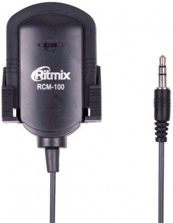 Микрофон RITMIX RCM-100,  черный