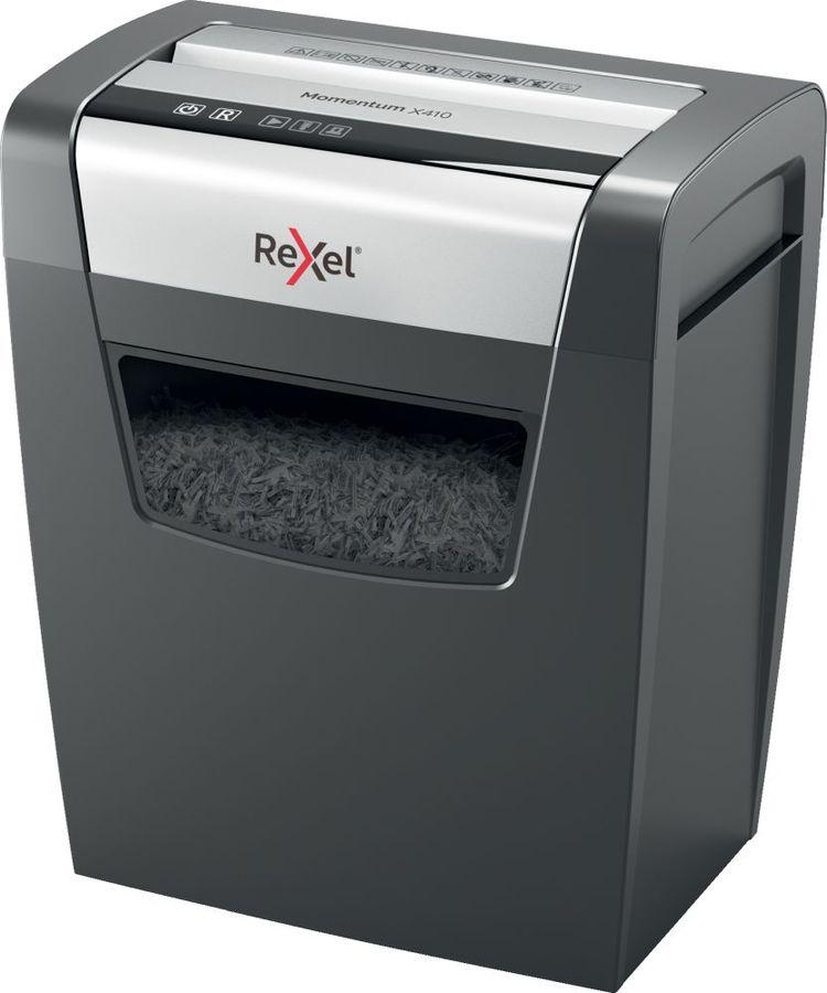 Уничтожитель бумаг REXEL Momentum X410,  P-4,  4х28 мм [2104571eu]