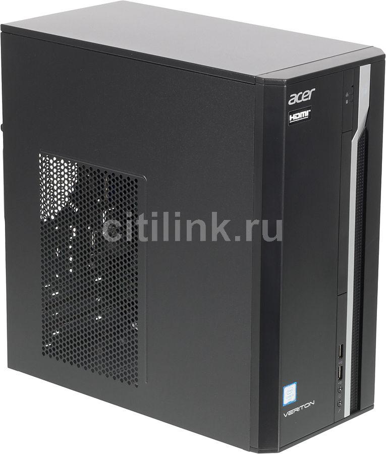 Компьютер  ACER Veriton ES2710G,  Intel  Core i3  6100,  DDR4 4Гб, 1000Гб,  Intel HD Graphics 530,  Free DOS,  черный [dt.vqeer.073]