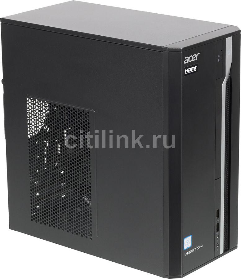 Компьютер  ACER Veriton ES2710G,  Intel  Core i3  6100,  DDR4 4Гб, 128Гб(SSD),  Intel HD Graphics 530,  Free DOS,  черный [dt.vqeer.078]