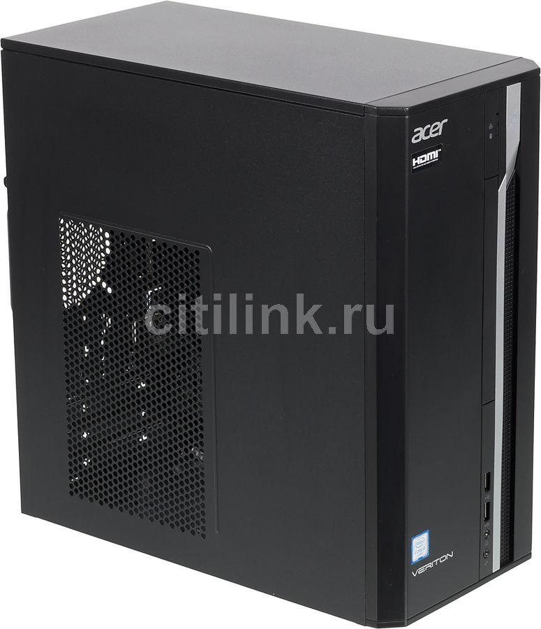 Компьютер  ACER Veriton ES2710G,  Intel  Core i3  6100,  DDR4 8Гб, 256Гб(SSD),  Intel HD Graphics 530,  Free DOS,  черный [dt.vqeer.082]