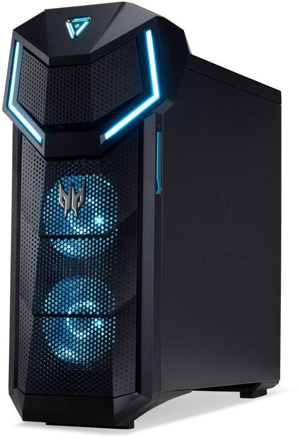 Компьютер  ACER Predator PO5-610,  Intel  Core i5  8400,  DDR4 16Гб, 2Тб,  256Гб(SSD),  NVIDIA GeForce RTX 2080 - 8192 Мб,  DVD-RW,  Free DOS,  черный [dg.e0ser.005]