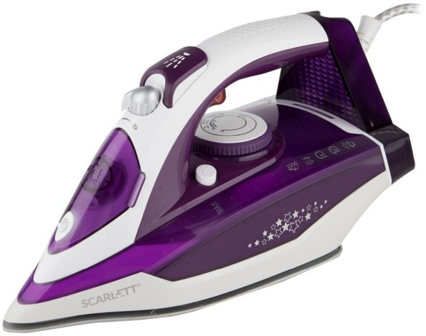 Утюг SCARLETT SC-SI30K34,  2200Вт,  фиолетовый [sc - si30k34]