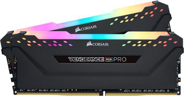 Модуль памяти CORSAIR Vengeance RGB Pro CMW16GX4M2C3466C16 DDR4 -  2x 8Гб 3466, DIMM,  Ret