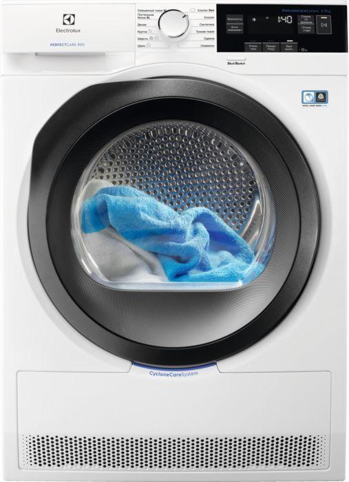 Сушильная машина ELECTROLUX PerfectCare 800 EW8HR357S белый