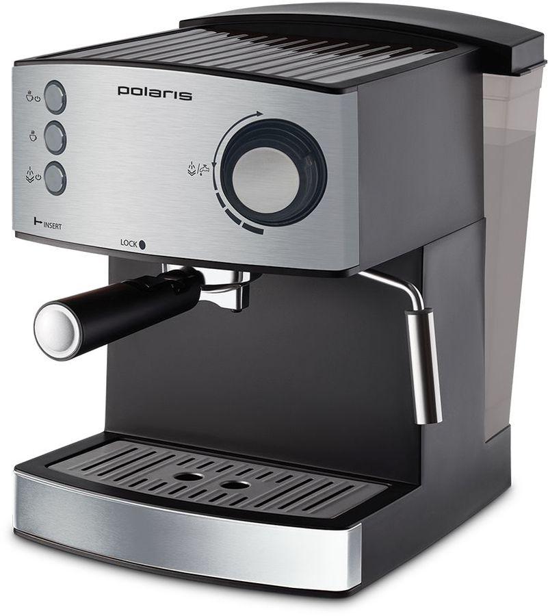 Кофеварка POLARIS PCM 1520AE Adore Crema,  эспрессо,  нержавеющая сталь