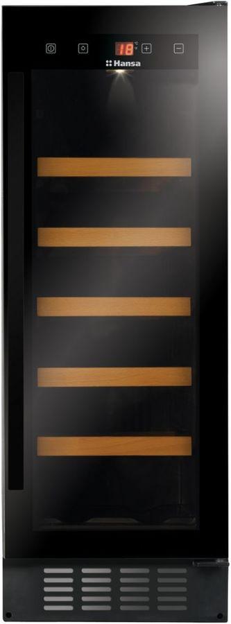 Винный шкаф HANSA FWC30201B,  однокамерный, черный