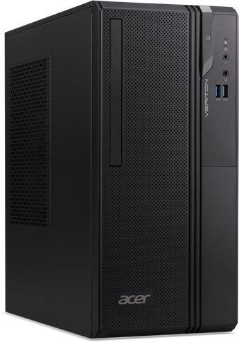 Компьютер  ACER Veriton ES2730G,  Intel  Core i3  8100,  DDR4 4Гб, 128Гб(SSD),  Intel UHD Graphics 630,  Free DOS,  черный [dt.vs2er.010]