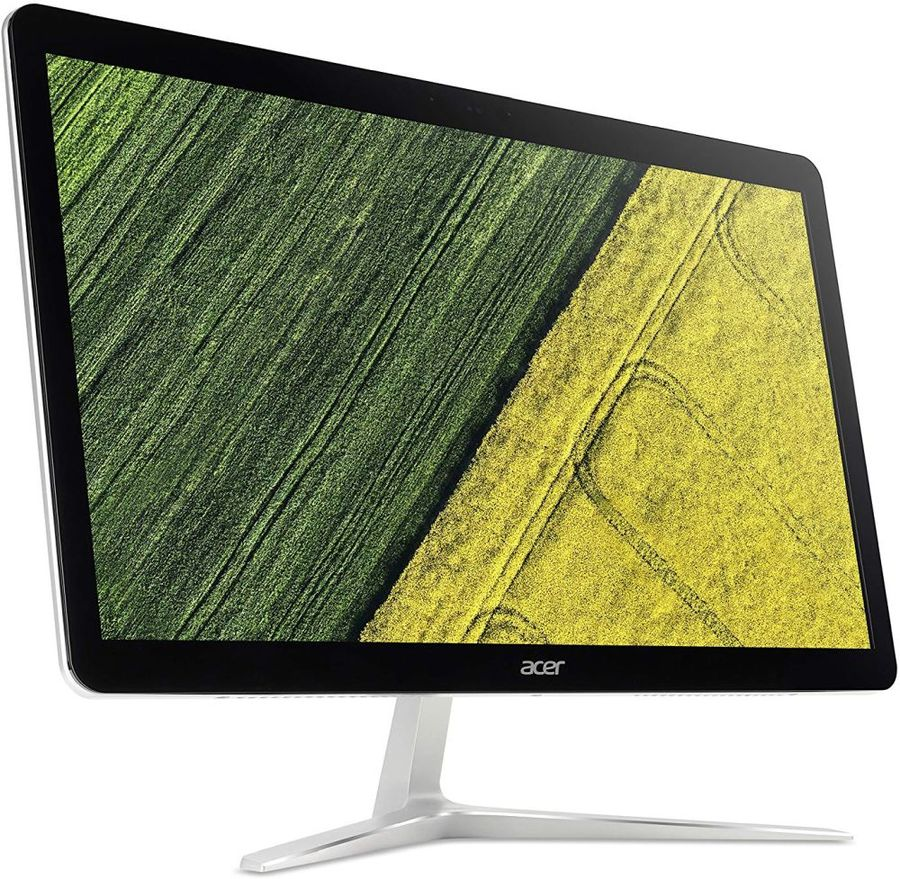 "Моноблок ACER Aspire U27-885, 27"", Intel Core i5 8250U, 8Гб, 1000Гб, Intel UHD Graphics 620, Windows 10 Home, черный и серебристый [dq.ba7er.001]"