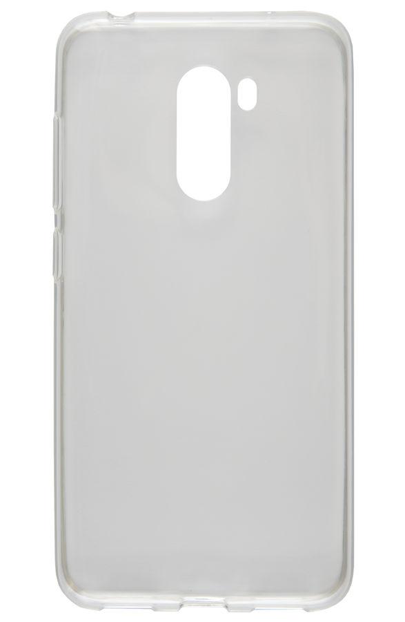 Чехол (клип-кейс) REDLINE iBox Crystal, для Xiaomi Pocophone F1, прозрачный [ут000016729]