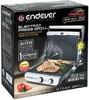 Электрогриль ENDEVER Grillmaster 250,  серебристый и черный [80568] вид 13