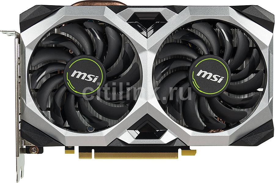 Видеокарта MSI nVidia  GeForce RTX 2060 ,  RTX 2060 VENTUS XS 6G OC,  6Гб, GDDR6, OC,  Ret