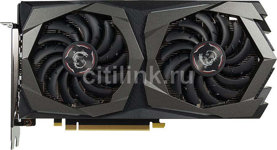 Видеокарта MSI nVidia  GeForce GTX 1660TI ,  GTX 1660 Ti GAMING X 6G,  6Гб, GDDR6, Ret