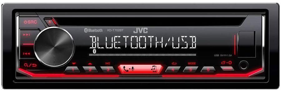 Автомагнитола JVC KD-T702BT,  USB