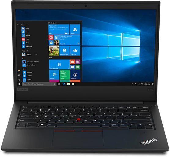 """Ноутбук LENOVO ThinkPad E490, 14"""",  IPS, Intel  Core i7  8565U 1.8ГГц, 8Гб, 1000Гб,  256Гб SSD,  Intel UHD Graphics  620, Windows 10 Professional, 20N80010RT,  черный"""