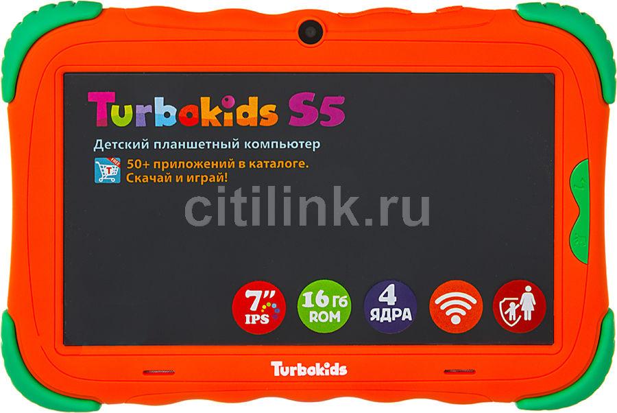 Детский планшет TURBO TurboKids S5 16Gb,  Wi-Fi,  Android 7.1,  оранжевый [рт00020505]