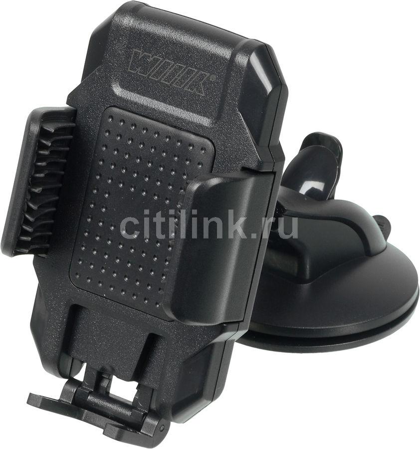Держатель Wiiix HT-28T6 черный для для смартфонов и навигаторов