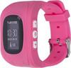 "Смарт-часы JET Kid Start,  54мм,  0.64"",  черный / розовый [start pink] вид 1"