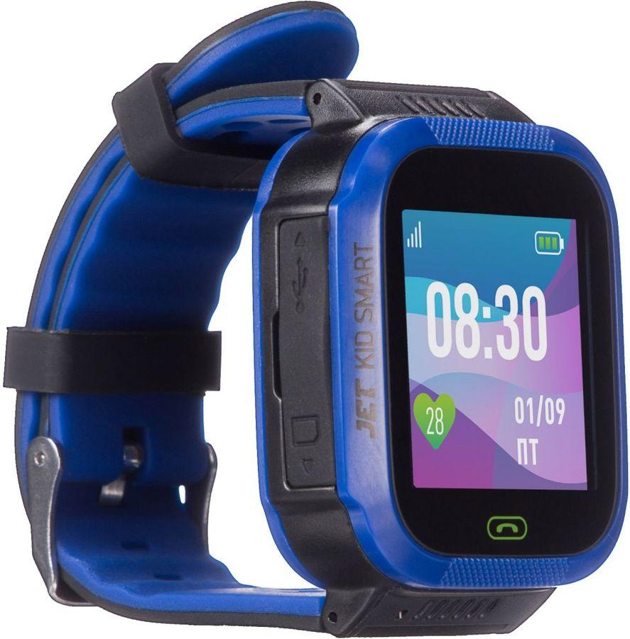 """Смарт-часы JET Kid Smart,  45мм,  1.44"""",  темно-синий / темно-синий [smart dark blue]"""