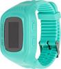 """Смарт-часы JET Kid Next,  54мм,  0.64"""",  черный / бирюзовый [next turquoise] вид 2"""