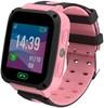 """Смарт-часы JET Kid Connect,  45мм,  1.44"""",  черный / розовый [connect pink] вид 1"""