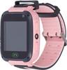 """Смарт-часы JET Kid Connect,  45мм,  1.44"""",  черный / розовый [connect pink] вид 3"""