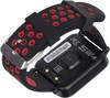 """Смарт-часы JET Sport SW-4,  46мм,  0.96"""",  черный / красный [sw-4 red] вид 3"""