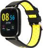"""Смарт-часы JET Sport SW-5,  52мм,  1.44"""",  черный / желтый [sw-5 yellow] вид 4"""