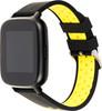 """Смарт-часы JET Sport SW-5,  52мм,  1.44"""",  черный / желтый [sw-5 yellow] вид 5"""
