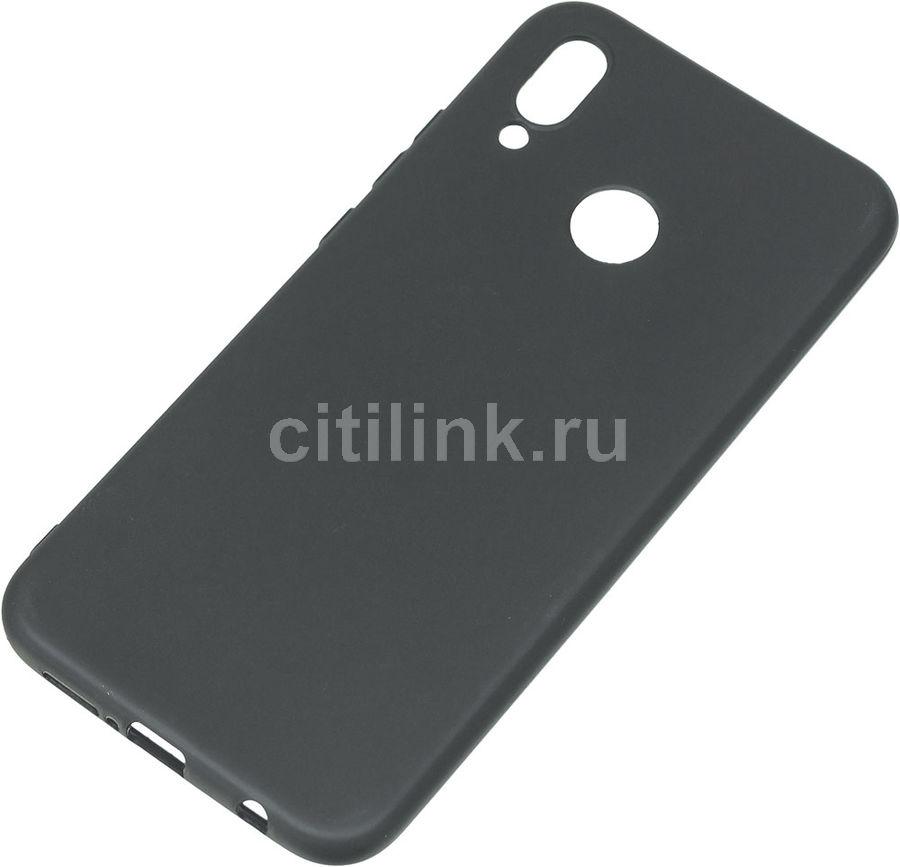 Чехол (клип-кейс) GRESSO Meridian, для Huawei P20 Lite, черный [gr17mrn306]