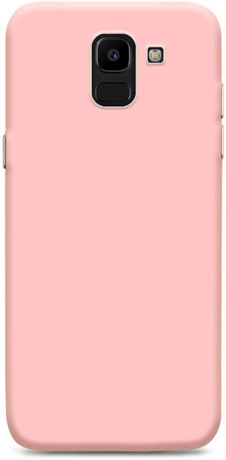 Чехол (клип-кейс)  Gresso Meridian, для Samsung Galaxy J6 (2018), розовое золото [gr17mrn116]