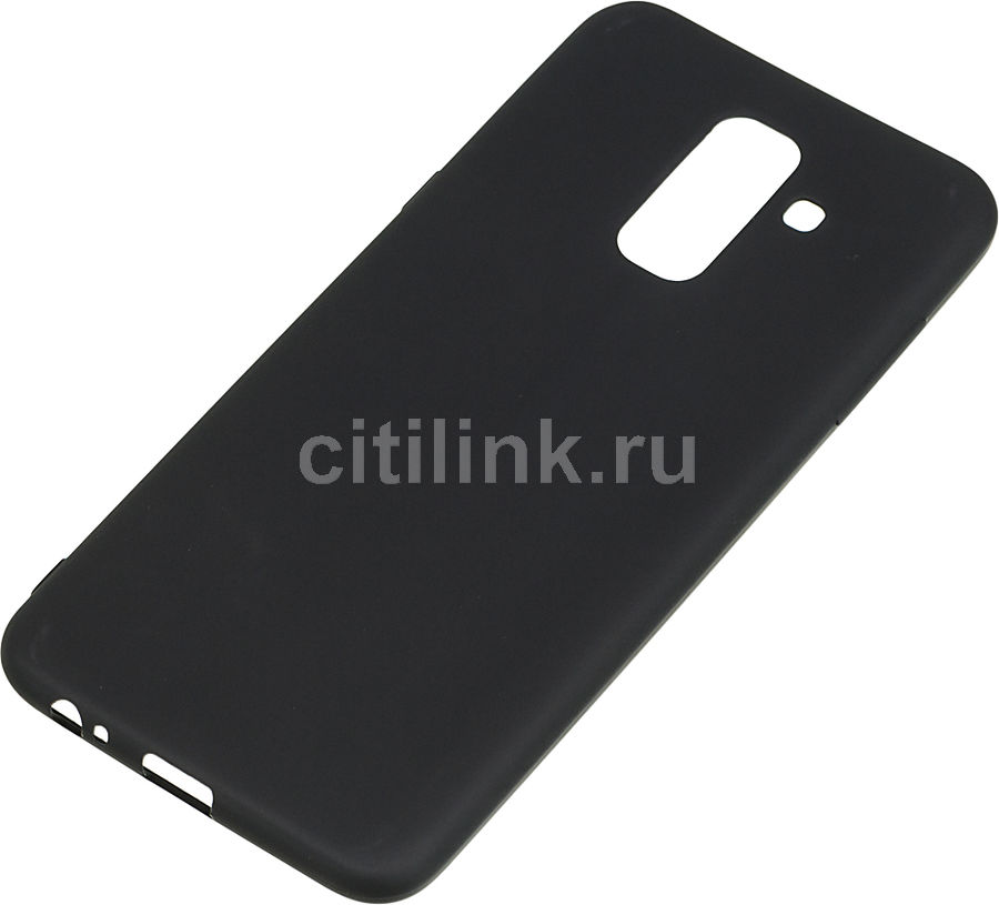 Чехол (клип-кейс)  Gresso Meridian, для Samsung Galaxy A6+ (2018), черный [gr17mrn218]