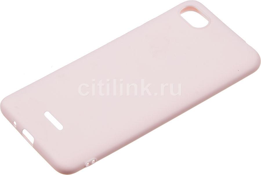 Чехол (клип-кейс) GRESSO Meridian, для Xiaomi Redmi 6A, розовое золото [gr17mrn435]